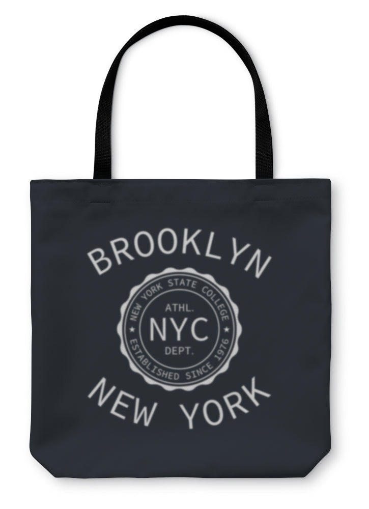 Tote Bag, New York College Of Sport Typography