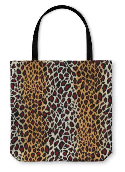 Tote Bag, Jaguar Skin Pattern