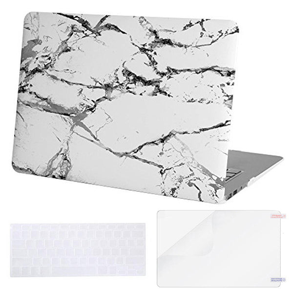 Marble Shell Cover Case for Macbook Air 13