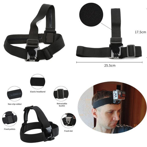for GoPro Hero 6 5 Accessory Set Basic Kits