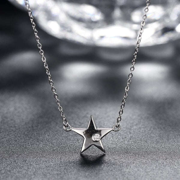 Star Sterling Silver Necklace