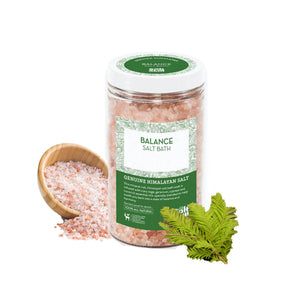Salt Skill - Natural Himalayan Soaking Bath Salts Balance 32 OZ