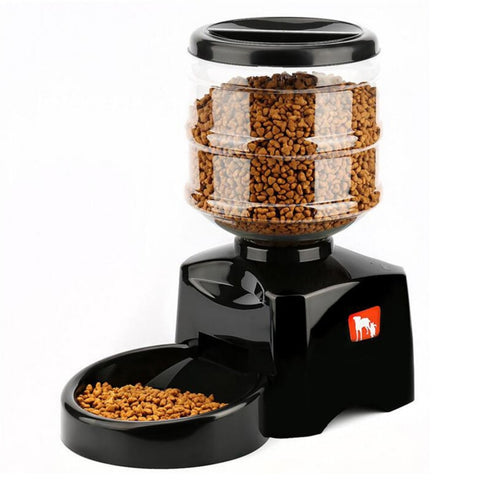 5.5L Smart Feeder Automatic Food Dispenser Pet feeder with LCD Display Sound Recording