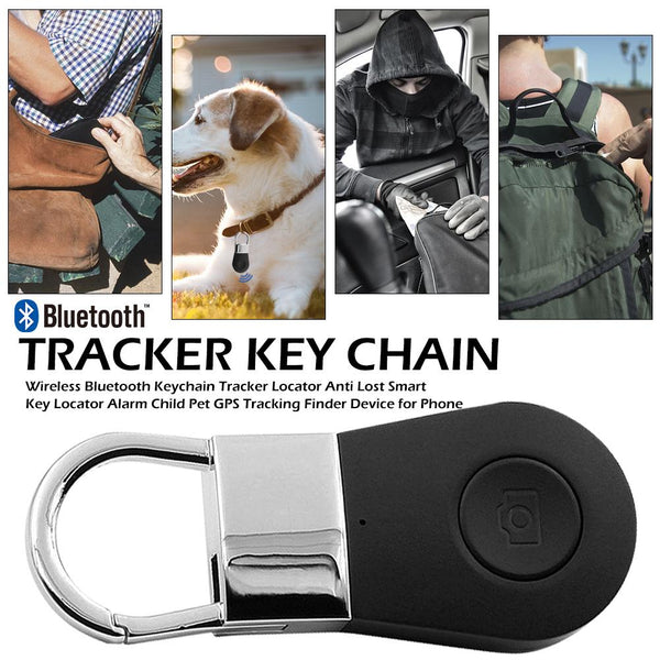 Wireless Bluetooth Key Finder Locator Anti Lost Smart Keychain Tracker Locator Alarm Child GPS Tracking Finder Device For Phone