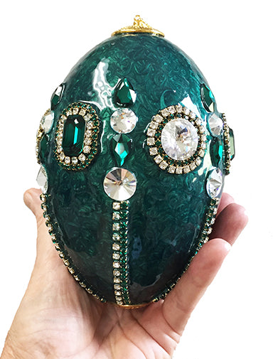 Emerald Rhea Ornament