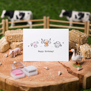 At the Farm Birthday Card Making Kit