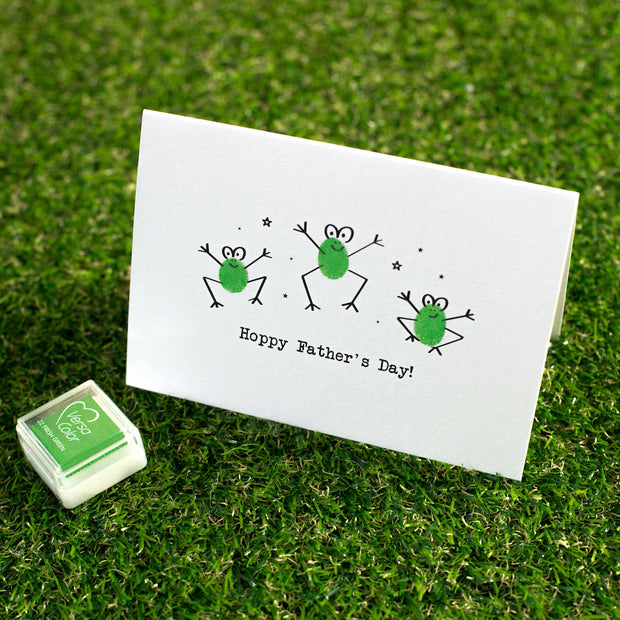 Froggy Father's Day Card Making Kit