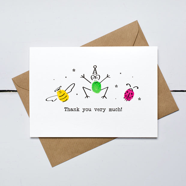Garden Party Thank You Card Kit