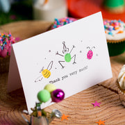 Minibeasts Thank You Card Making Kit