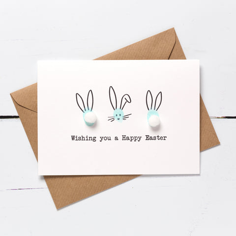 Easter Bunny Card Making Kit - Mint