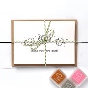 At the Farm Thank You Card Making Kit