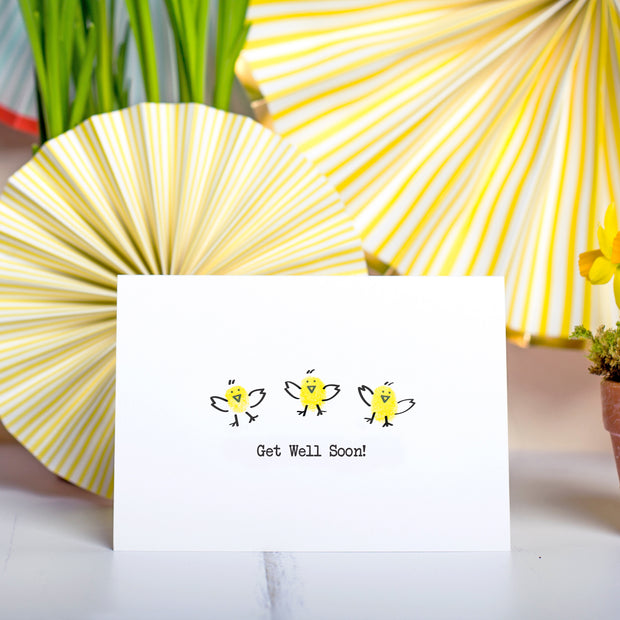Get Well Soon Chick Card Making Kit
