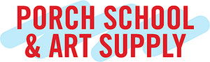 porch school and art supply logo