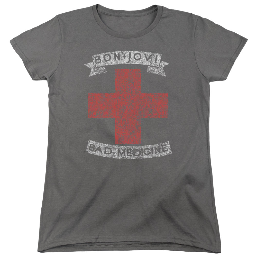 Bon Jovi - Bad Medicine Short Sleeve Women's Tee