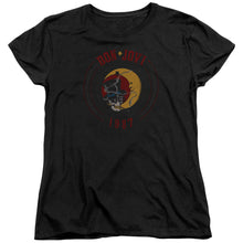 Load image into Gallery viewer, Bon Jovi - 1987 Short Sleeve Women's Tee