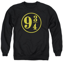 Load image into Gallery viewer, Harry Potter - 9 3 - 4 Adult Crewneck Sweatshirt