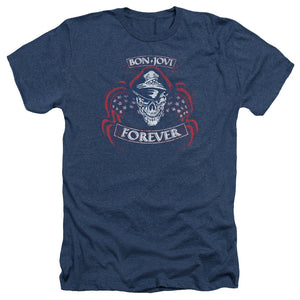 Bon Jovi - Forever Skull Adult Heather