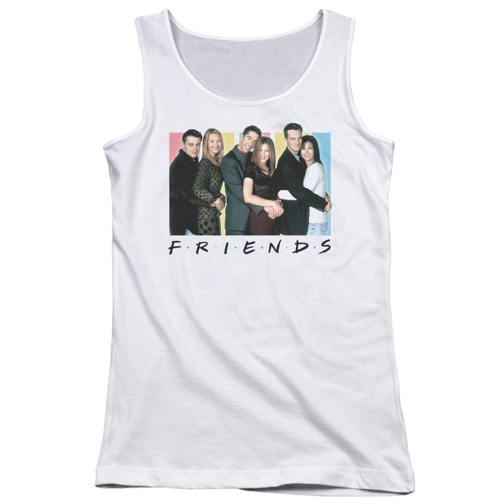 Friends - Cast Logo Juniors Tank Top
