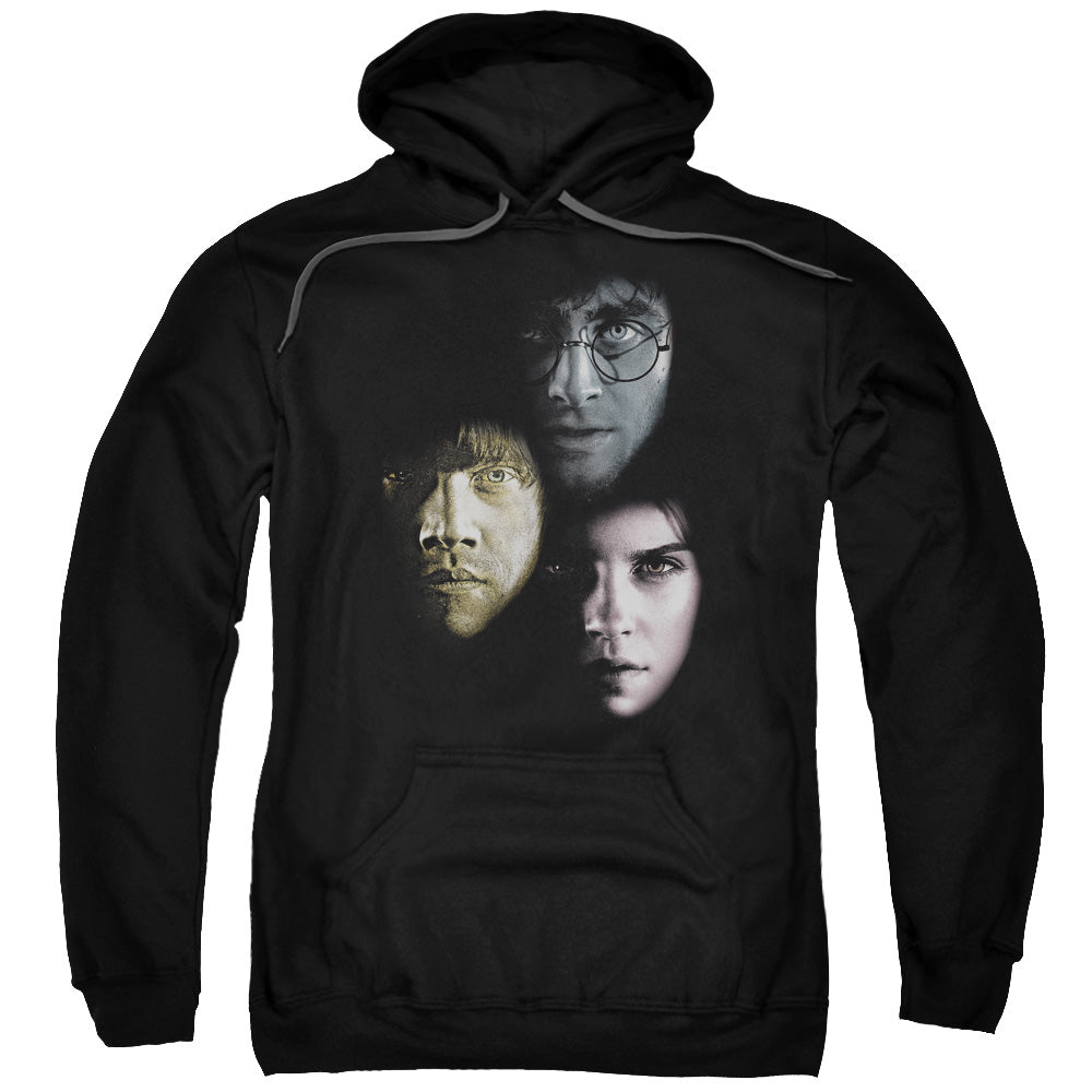 Harry Potter - Hero Heads Adult Pull Over Hoodie