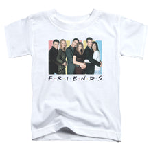 Load image into Gallery viewer, Friends - Cast Logo Short Sleeve Toddler Tee
