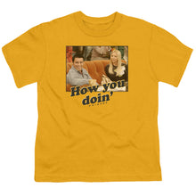 Load image into Gallery viewer, Friends - How You Doin Short Sleeve Youth 18/1