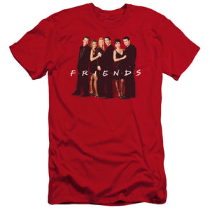Friends - Cast In Black Premium Canvas Adult Slim Fit 30/1