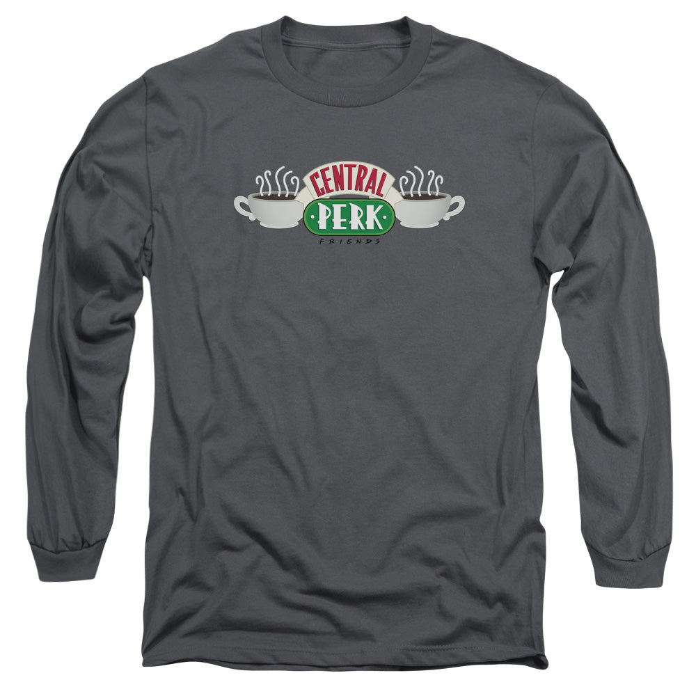 Friends - Central Perk Logo Long Sleeve Adult 18/1