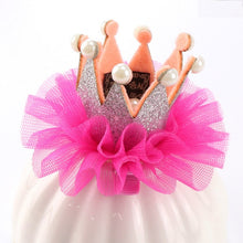 Load image into Gallery viewer, 1PC  Girls Crown Princess Hair Clip