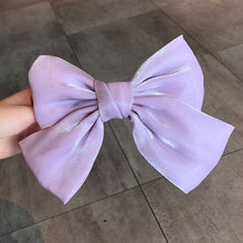 Load image into Gallery viewer, Solid Color Big Bow Hairpin