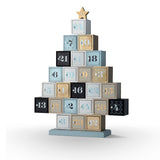 Wooden Tree Advent Calendar