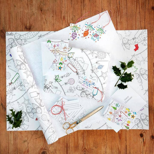 Color-in Holiday Craft Activity Pack