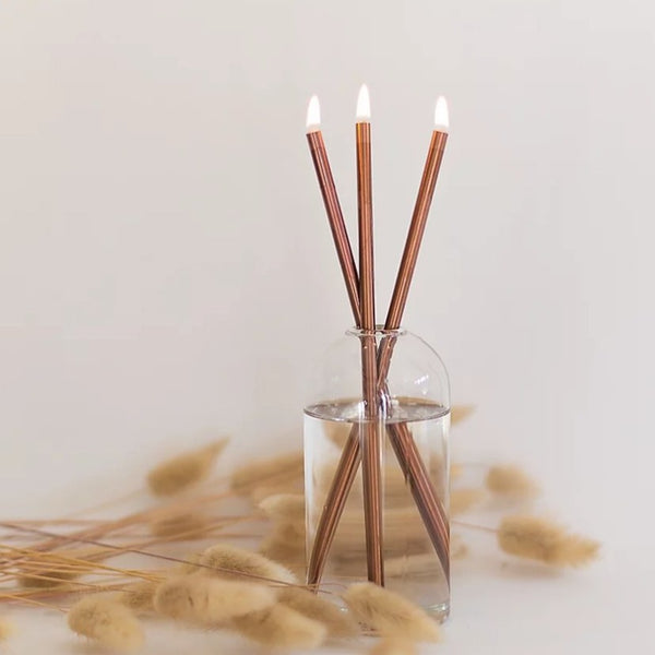 Everlasting Candle Set - Copper