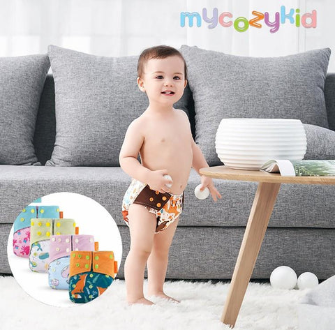 Washable Reusable Cloth Diapers