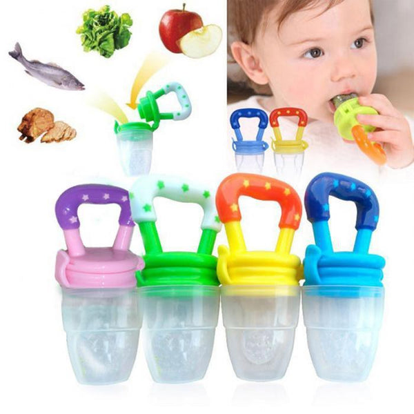 BABY FOOD PACIFIER CLIPS SOOTHER