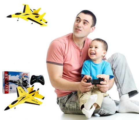 2.4G RC AIRPLANE WITH ELECTRIC REMOTE CONTROL