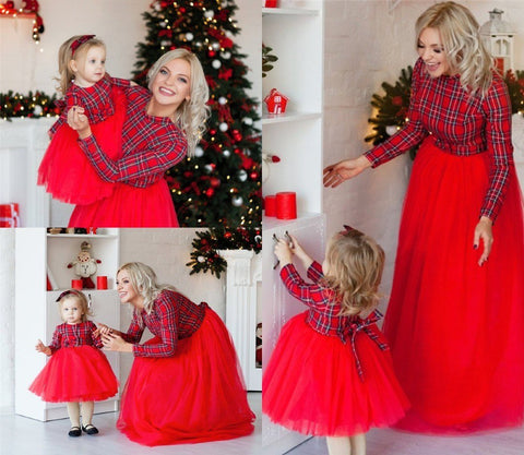 MOMMY & GIRL(1-9Y) MATCHING DRESS