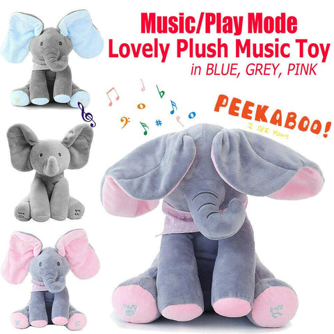 Elephant Toy With Funny Swing Ear