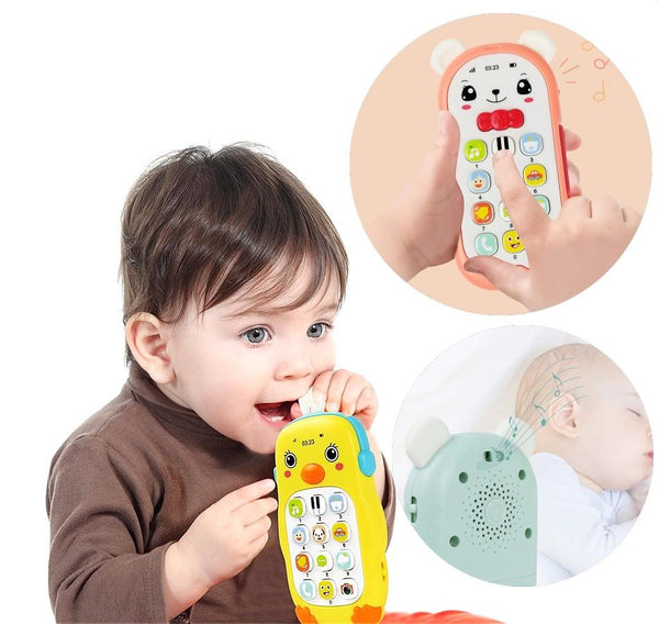 BABY TOY PHONE WITH MUSIC SOUND AND MADE WITH TEETHER