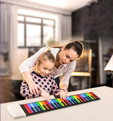 Innovative Roll Up Portable Piano For Children