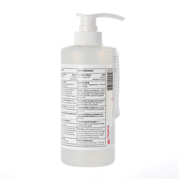500ml Hand Sanitizer  - 80% Alcohol