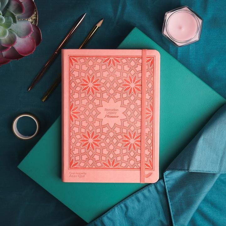 The Ramadan Legacy Planner is designed to help you not only plan and succeed in your personal Ramadan goals and schedule, but also live a truly spiritually uplifting life all-year round.