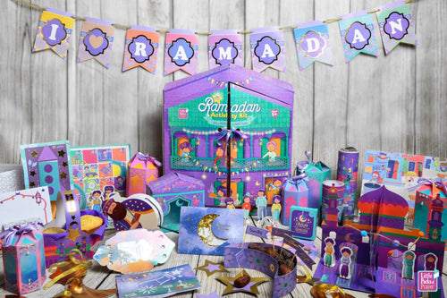 Ramadan Activity kit (Play house edition) Special educational activities inspired by our beautiful Ramadan traditions & values (LEARN THROUGH PLAY)