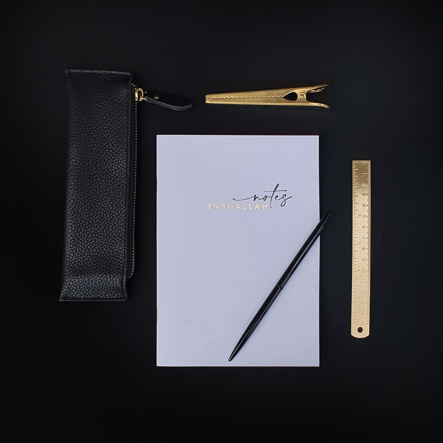 Notebooks - Gold Foiled - Inshallah