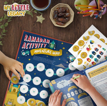 Load image into Gallery viewer, My Little Legacy is a Ramadan Journal & Activity Book, specially designed to take your child on an educational and interactive journey of Ramadan and the Qur'an to inspire personal development and growth in their knowledge and character.
