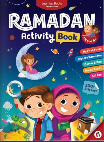 The smart parent's way to a productive Ramadan with the children. Designed from scratch to get your child to experience the beauty, blessings, and joy of this great month. Inspire Muslim children to love Islam by showcasing Ramadan to them at a mainstream standard, never seen before.