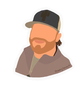 Country Conway Tiktok Sticker