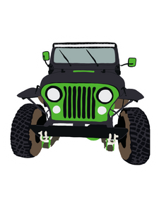 Custom Jeep Sticker