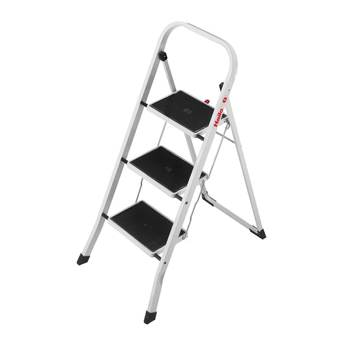 Hailo Foldable Ladder Stool 3 Steps