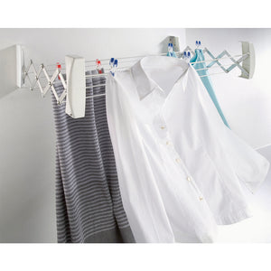 Wall Dryer Teleclip with clothes