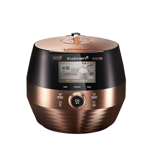 Cuchen Premium Smart LCD LH Rice cooker Front View